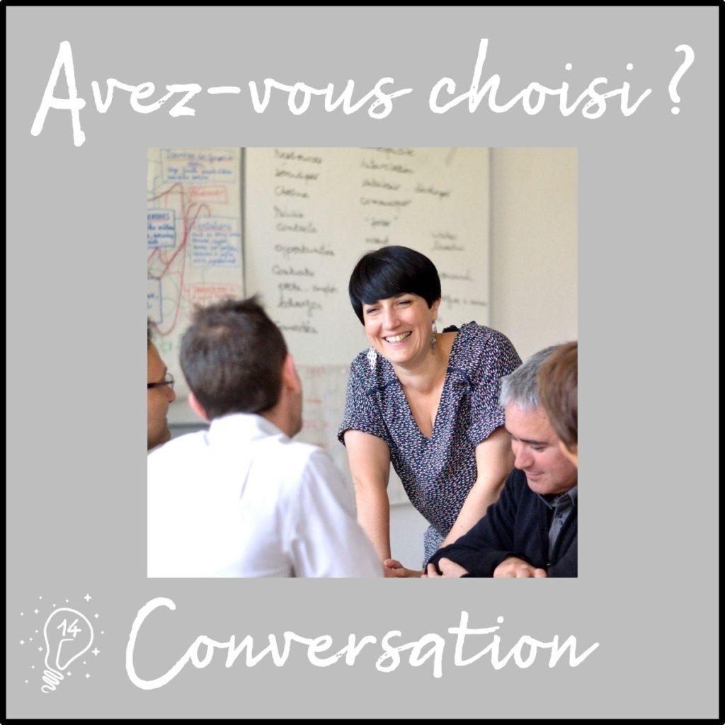 Avez-vous choisi ? Conversation avec Céline - RéorientEmoi (épisode 14)