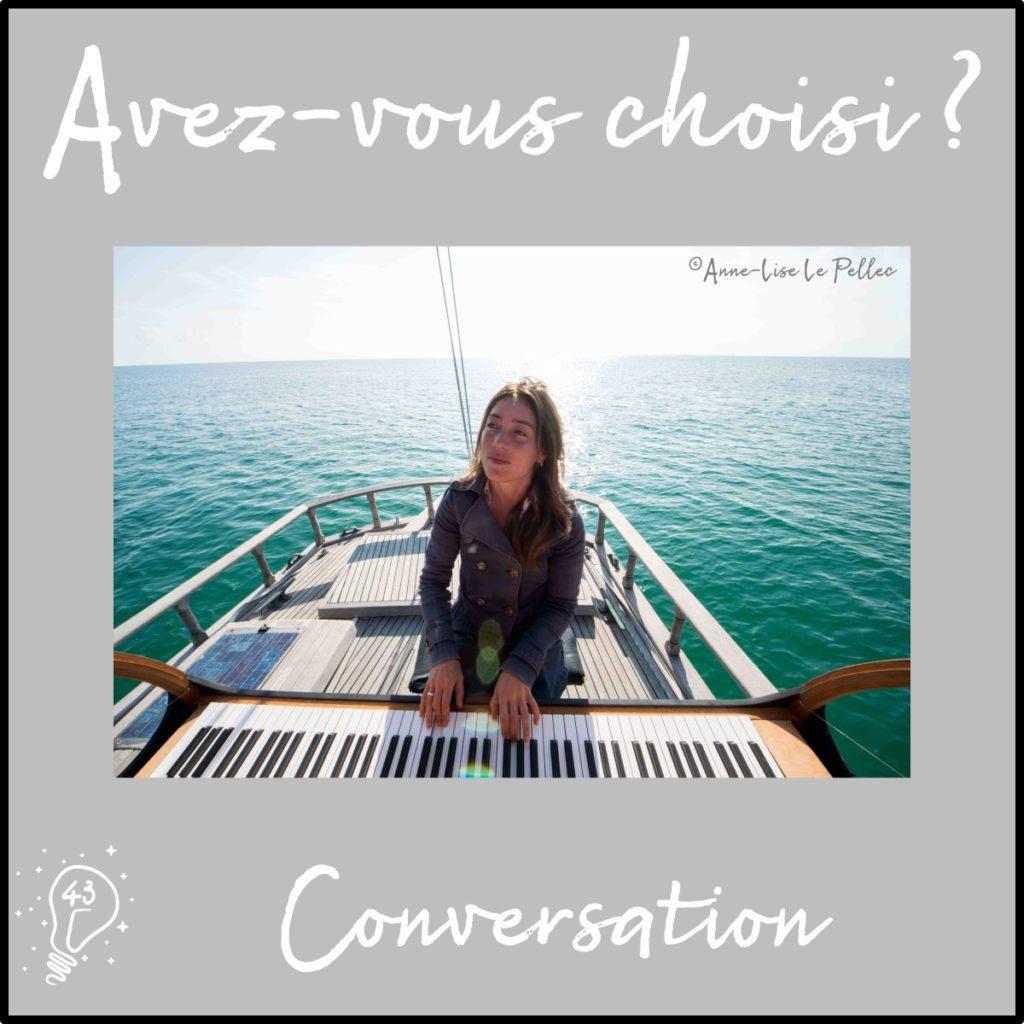 Conversation avec Marieke - PianOcéan - Un piano à voile (épisode 43)