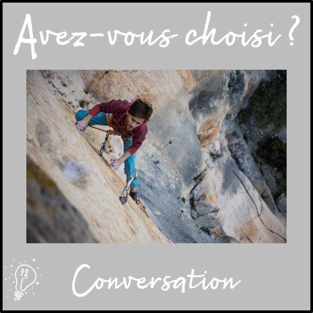 Conversation avec Christophe Bichet - Choisir de s'accrocher à l'essentiel - (épisode 72)