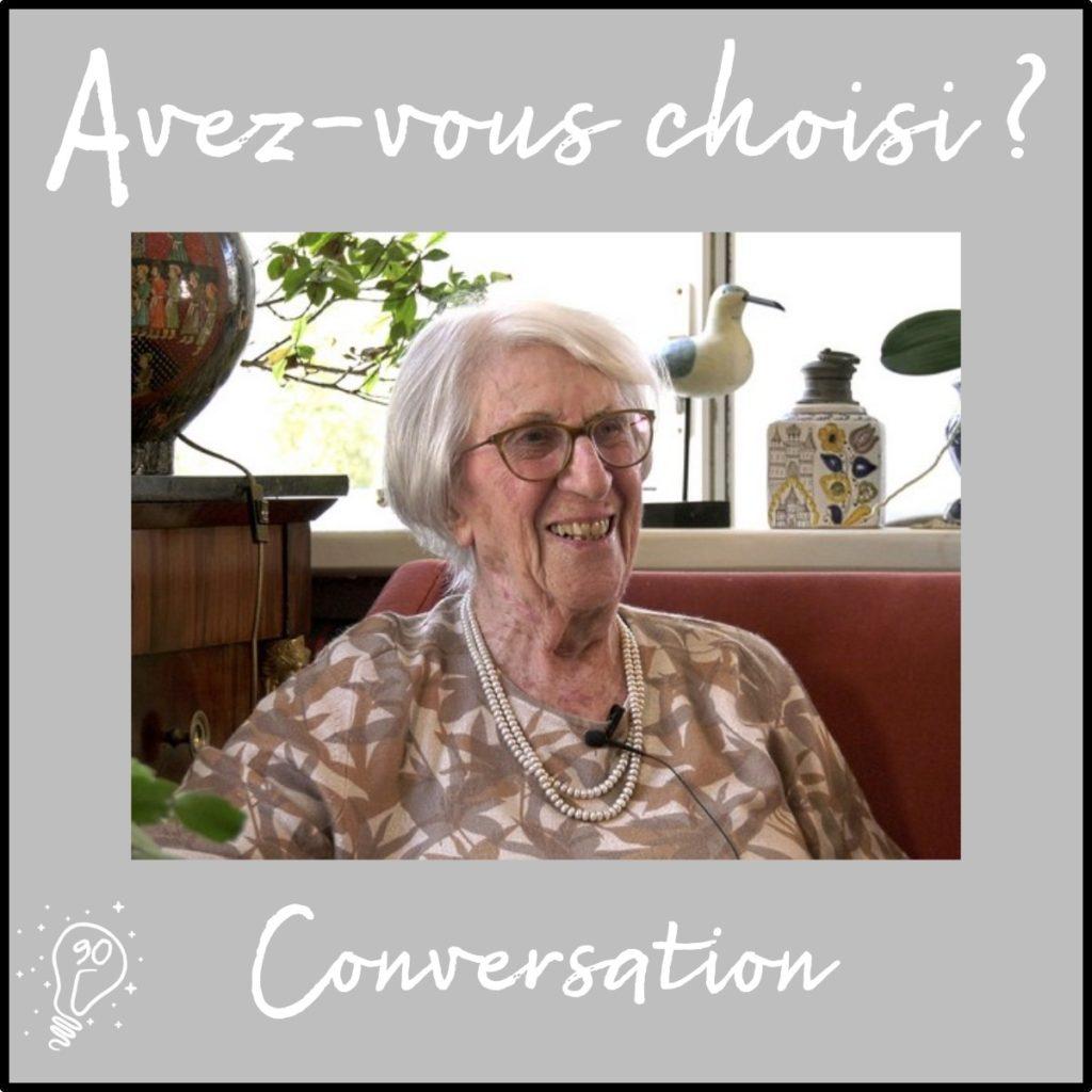 Conversation avec Annick de Souzenelle | Choisir d'aller à la source - (Épisode 90)