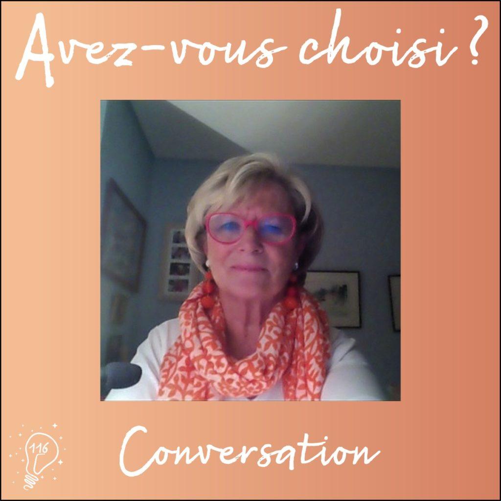 Conversation avec Isabelle Demeure | Faire les bons choix avec le dialogue intérieur (Épisode 116)